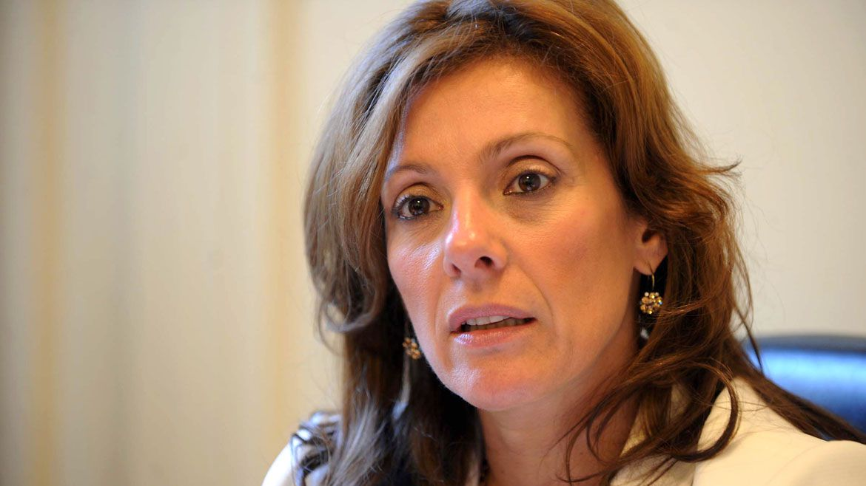 La fiscal Mónica Cuñarro, junto con el juez Adolfo Calvete, lograron desentrañar el misterio del robo al Banco de Crédito Argentino (Télam)
