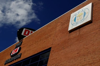 El DW Stadium del Wigan, que ha entrado en bancarrota por el COVID-19 (REUTERS)