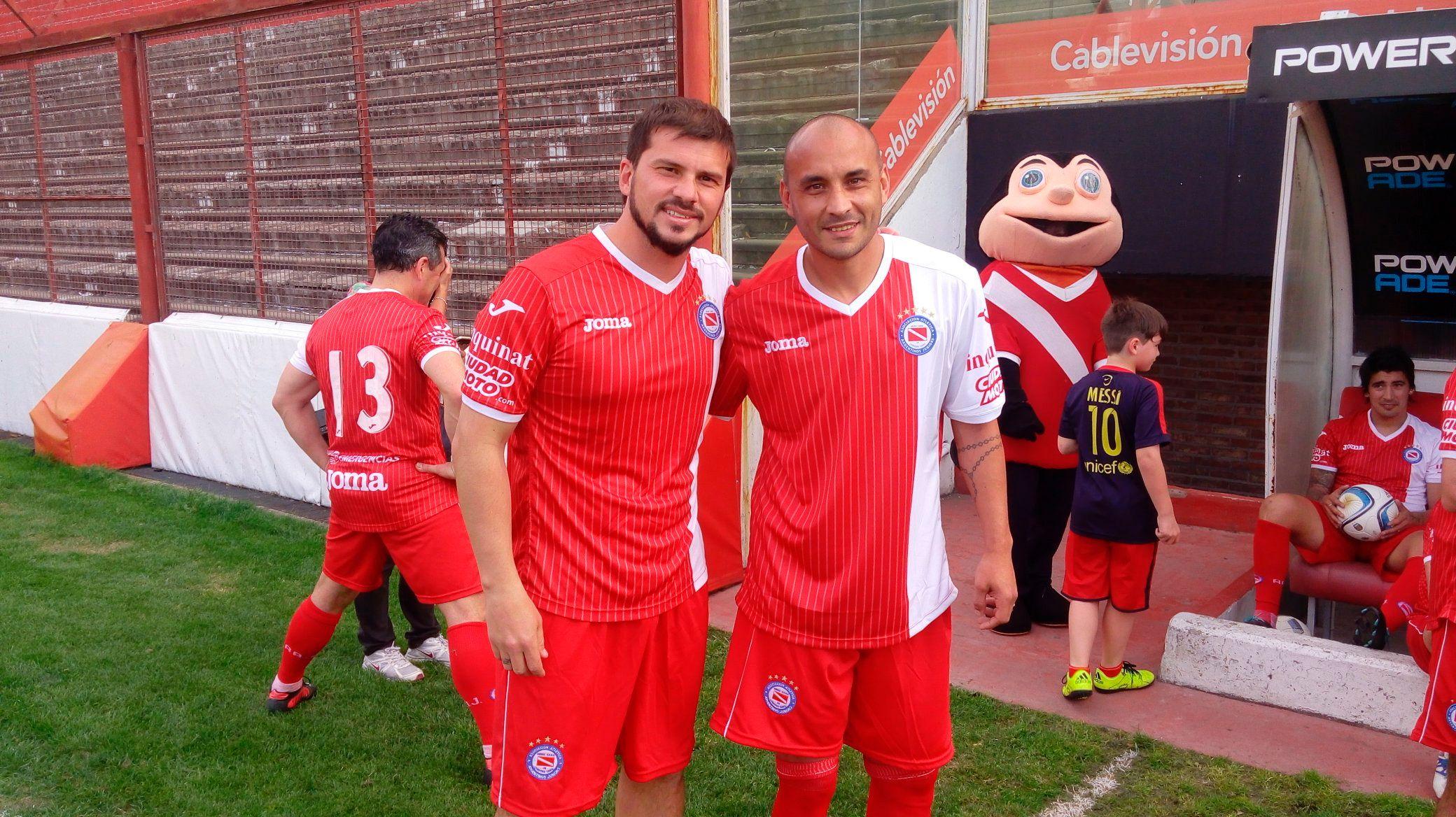 Mariano Herrón y Cristian Ledesma