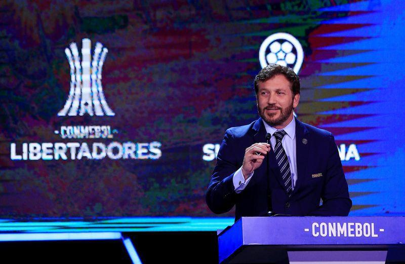 Alejandro Domínguez, presidente de la Conmebol (REUTERS/Jorge Adorno)