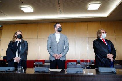 El ex defensor merengue se presentó ante la justicia para declarar (Reuters)