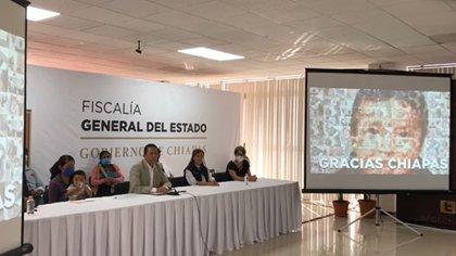(Captura: Fiscalía General del Estado de Chiapas)