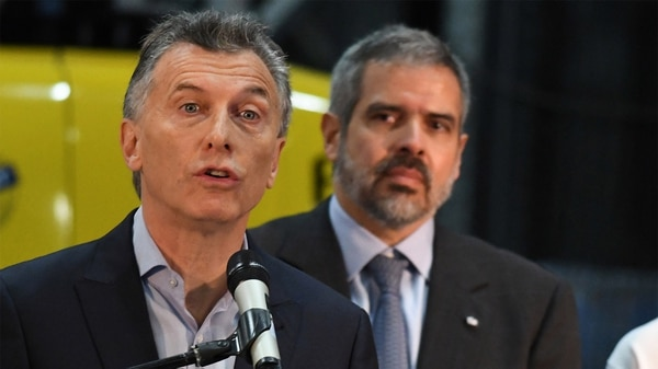 Mauricio Macri recorrióla planta industrial Lucchetti, ubicada en Malvinas Argentinas (Telam)