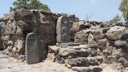 Excavaciones en el sitio Et-Tell, donde habría estado ubicada la ciudad bíblica de Betsaida