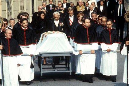 El funeral de Grace Kelly (Shutterstock)