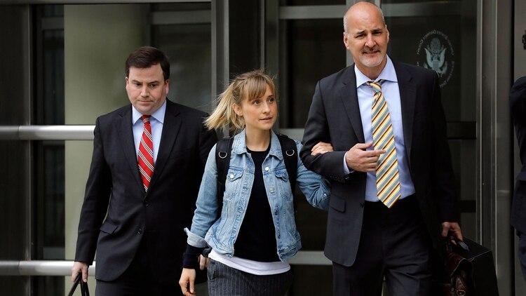 """""""He llegado a la conclusión de que debo asumir toda la responsabilidad sobre mi conducta y es por eso que me declaro culpable hoy"""", dijo la actriz (EFE)"""