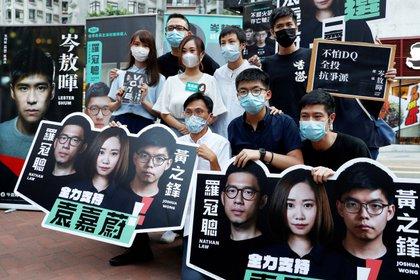 Campaña de las elecciones primarias para elegir los candidatos democráticos en Hong Kong