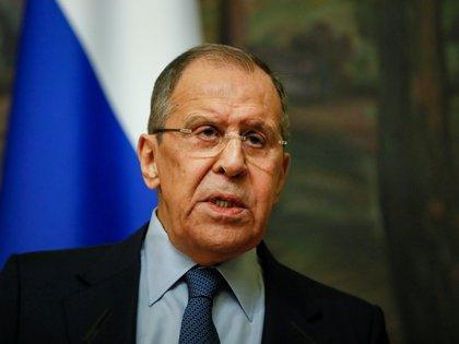 El ministri de Exteriores ruso, Sergei Lavrov. Yuri Kochetkov/Pool via REUTERS