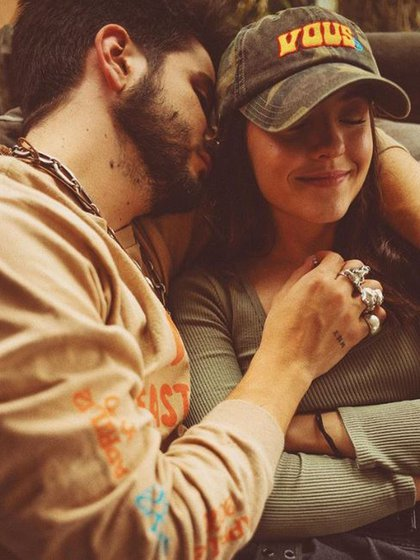 Camilo Echeverry, con el mismo tatuaje que el resto del clan Montaner (Foto: Instagram)