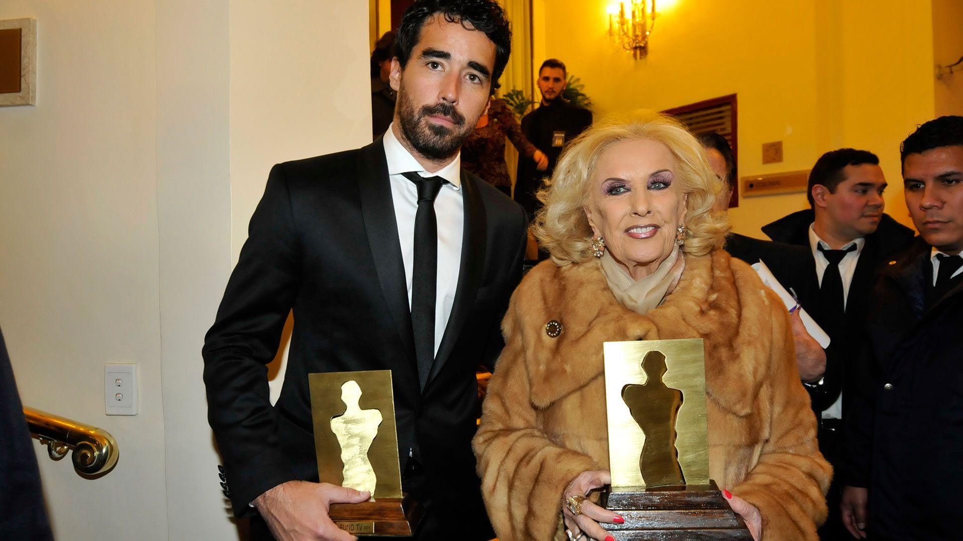 Mirtha Legrand y Nacho Viale (Foto: Verónica Guerman)