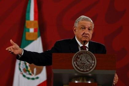 El presidente de México, Andrés Manuel López Obrador mandó al Congreso su iniciativa de ley para prohibir la subcontratación. REUTERS / Carlos Jasso/ Foto de archivo