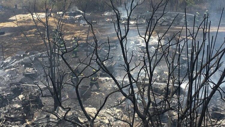Los incendios de este fin de semana detonaron la emergencia ambiental en el país (Foto: Cuartoscuro)