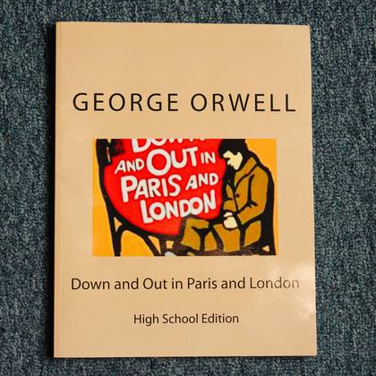 Una edición para estudiantes de secundaria cambia las memorias de Orwell