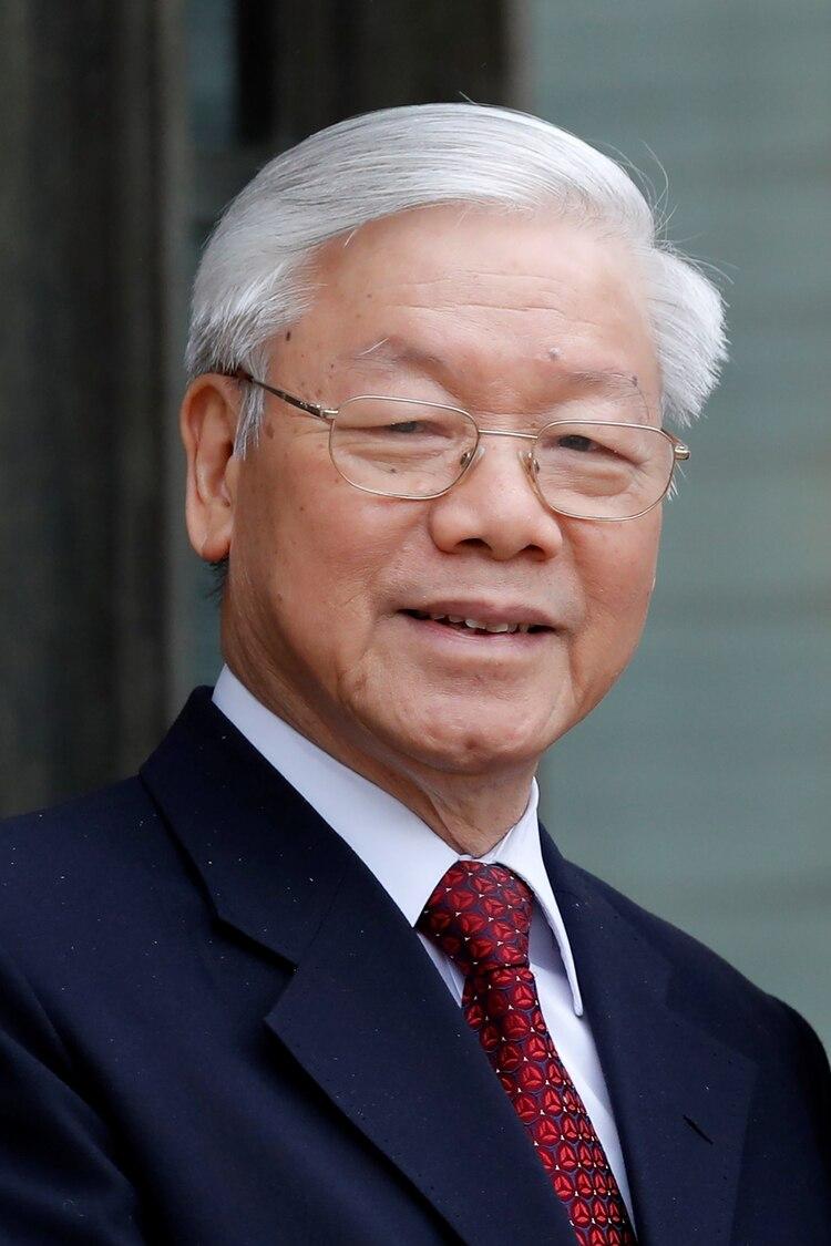 Nguyen Phu Trong, Secretario General del Partido Comunista de Vietnam (REUTERS/Charles Platiau)