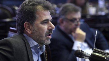 El presidente del bloque PRO en Diputados, Cristian Ritondo