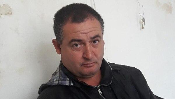 Carlos López, aprehendido anoche por la Policía Bonaerense.