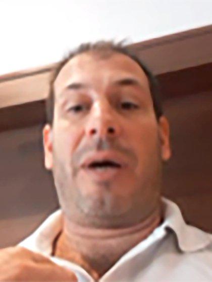 Ingeniero Marcelo Lenzi (foto vía Skype)