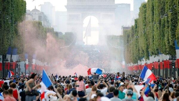Es el segundo título mundialista en la historia de Francia (Reuters)