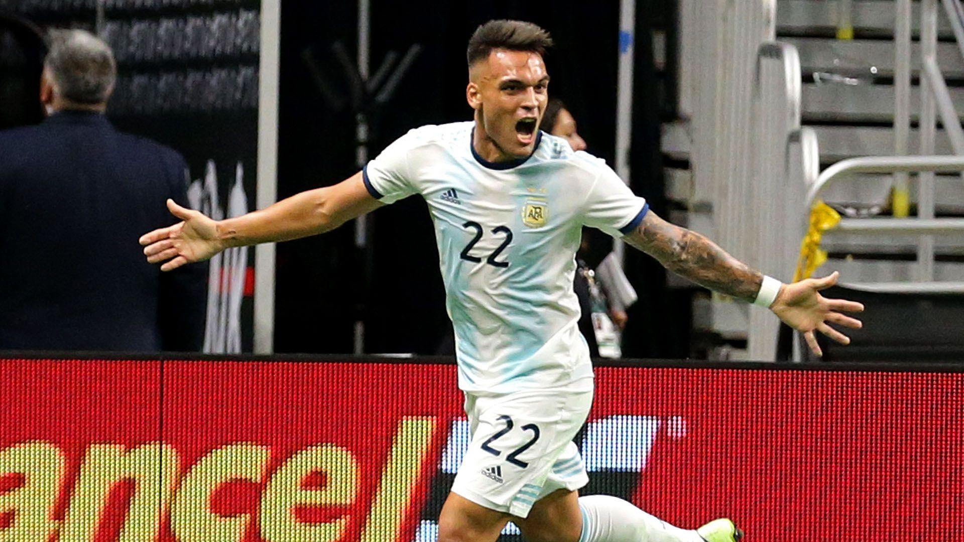 Lautaro Martínez buscará seguir con su racha goleadora en la Selección: lleva 9 goles en 13 partidos (AFP)