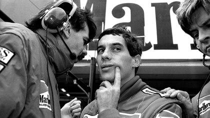 Un ex integrante del equipo McLaren reveló anécdotas desconocidas de Ayrton Senna (REUTERS)