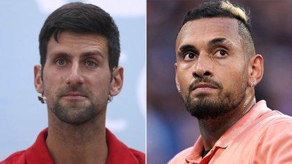 Nick Kyrgios criticó duramente a Novak Djokovic en las redes sociales