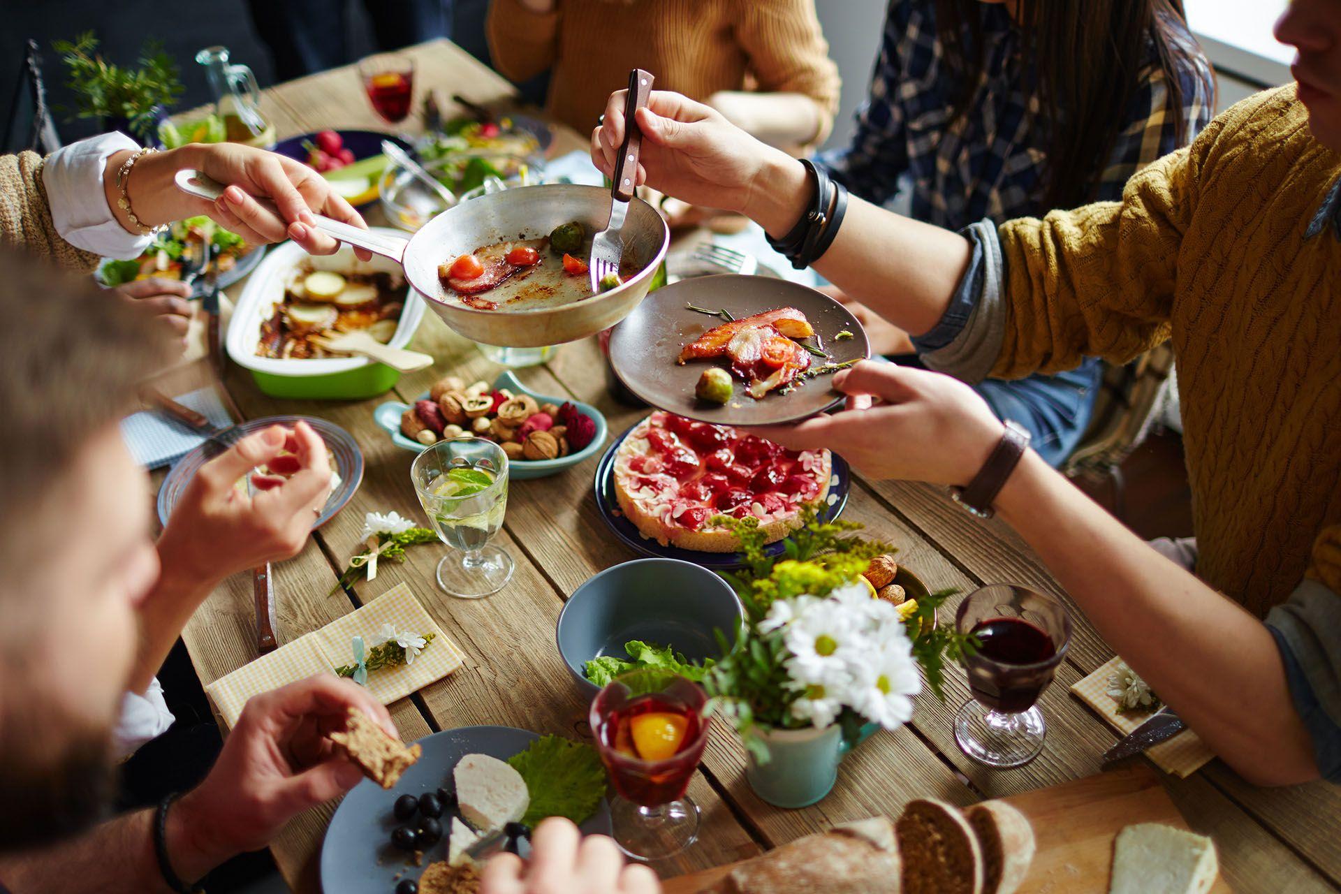 La alimentación debe ser sana, equilibrada y variada para tener una buena salud