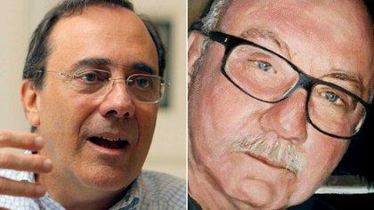 El escritor Carlos Alberto Montaner y su hermano Robert Alexis