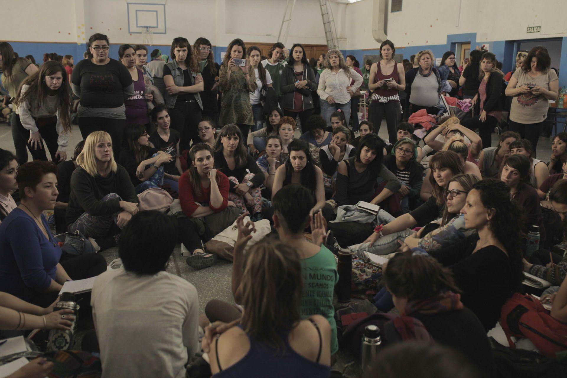 Los talleres se hacen en escuelas y centros culturales y son horizontales: con la palabra en igualdad de condiciones para todas