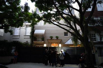 La entrada de la casa de Marcela Tinayre en Barrio Parque