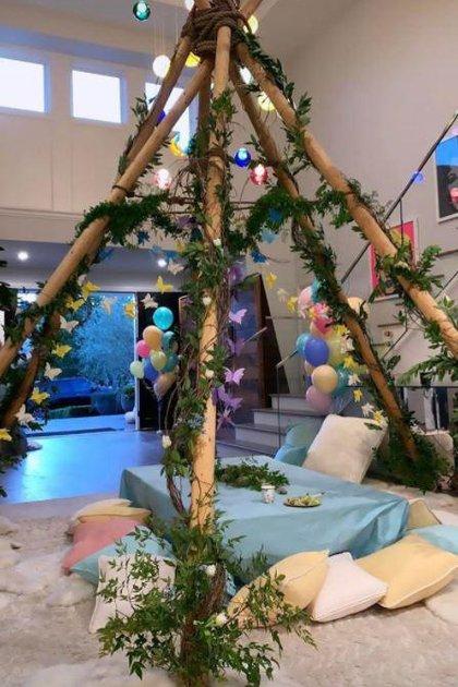 La fiesta temática recreó un mundo de fantasía