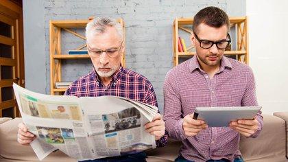 La relevancia de los medios tradicionales se debilitó a la vez que el periodismo encontró nuevos competidores en las redes sociales. (Shutterstock)