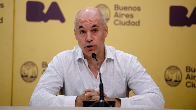 Rodríguez Larreta indicó que la suspensión de los eventos masivos será a partir de hoy, por tiempo indefinido (Crédito: Adrian Escandar)