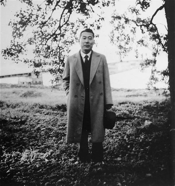 Chiune Sugihara, en una foto de sus años en Lituania