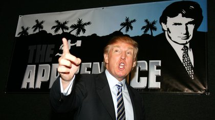 Donald Trump en el reality The Apprentice