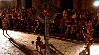 El juego de Pok ta Pok fue parte importante de la antigua cultura maya (Foto: Especial)