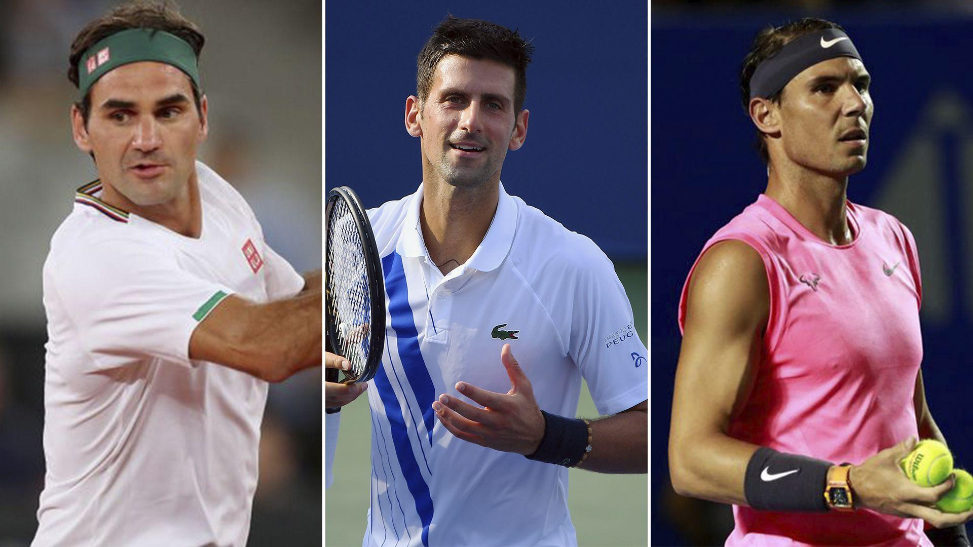 Federer Djokovic Nadal