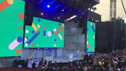 Shoreline Amphitheatre, escenario principal del Google I/O 2018
