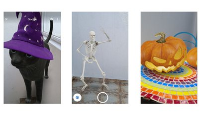 Google adds 3D objects to search engines to celebrate Halloween