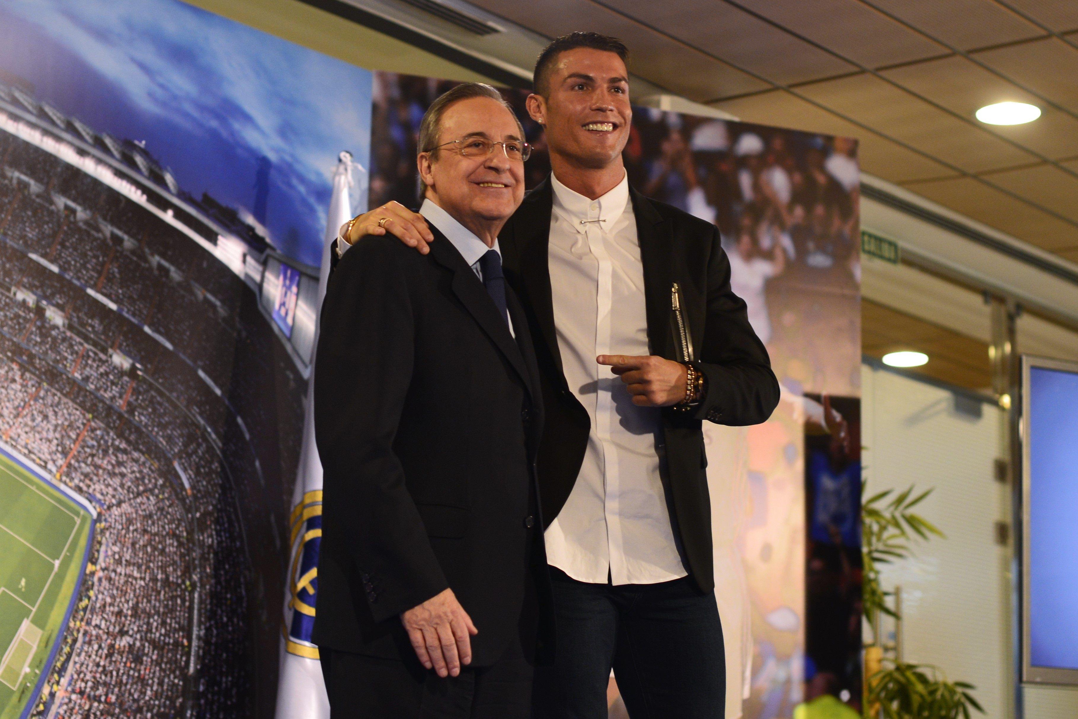 El portugués fichó por el club en 2009 con la vuelta de Florentino Pérez a la presidencia (Europa Press)