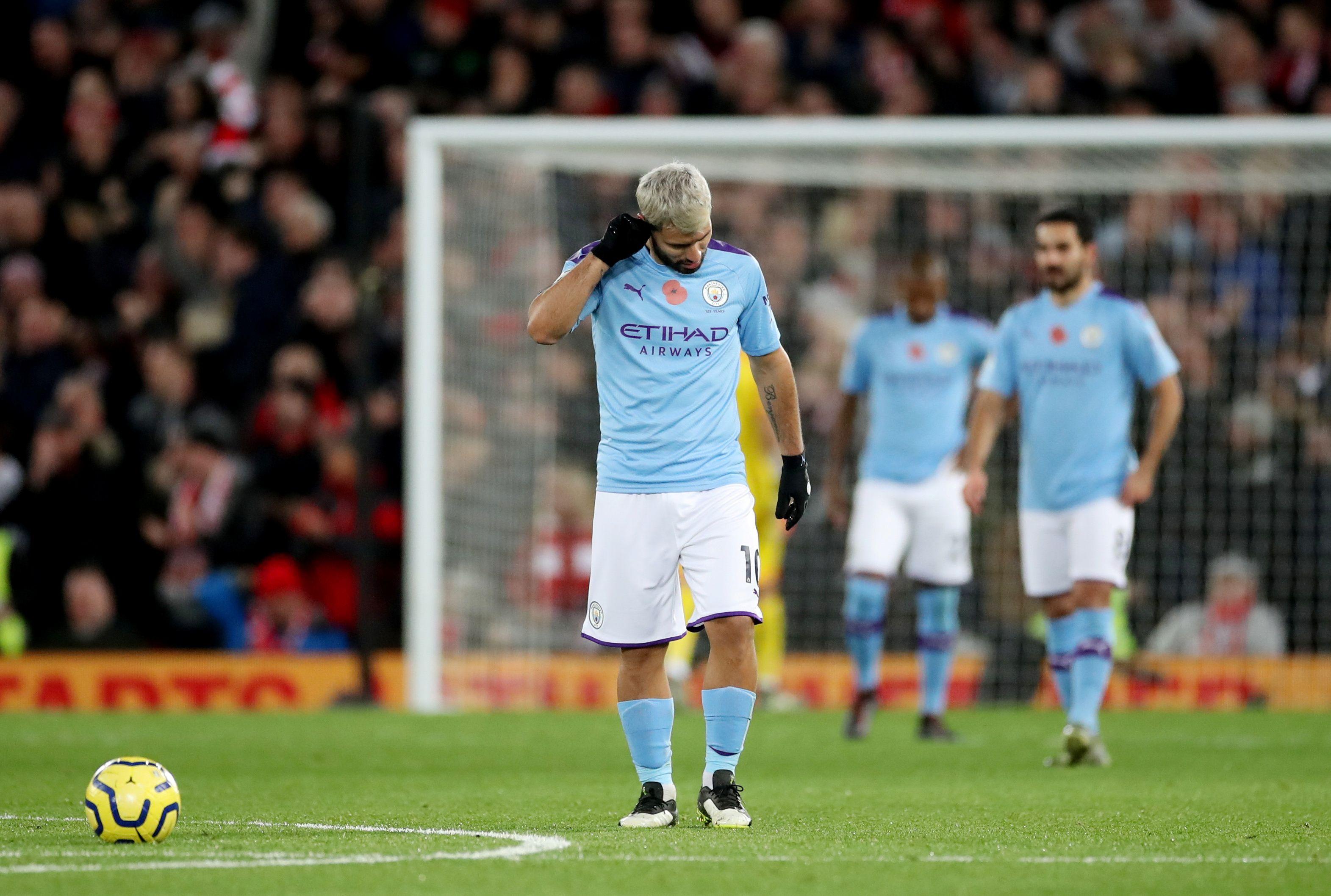 Manchester City viene de sufrir una derrota ante Livepool que lo alejó de los primeros puestos (Reuters/Carl Recine)