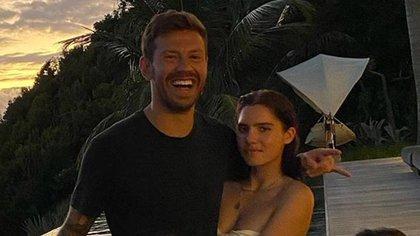 El ruso Fedor Smolov, futbolista del Celta de Vigo, rompió su confinamiento en España para viajar a ver a su novia (@smolovfedor_10)