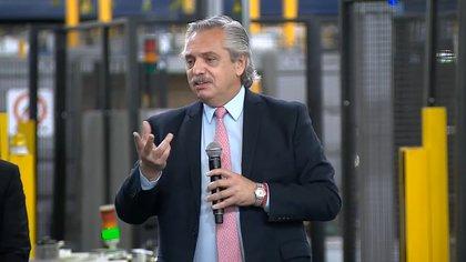 El presidente Alberto Fernández dijo que no va a devaluar