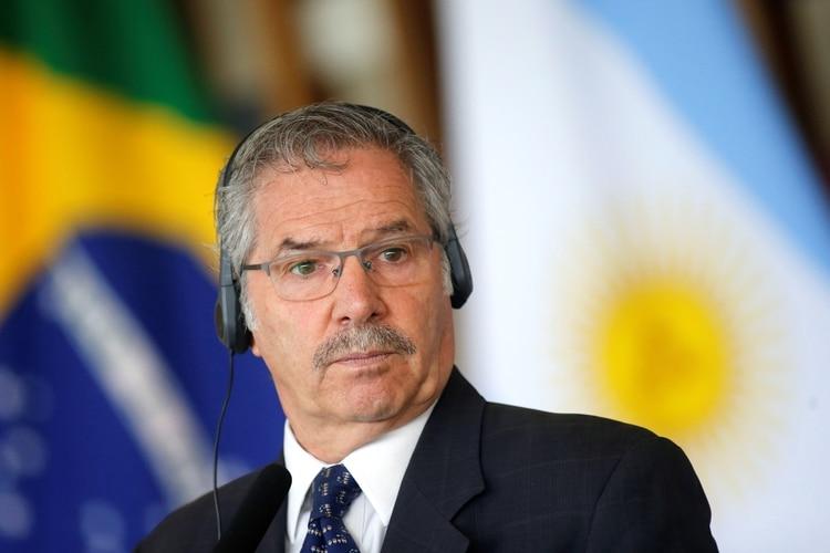 El canciller Felipe Solá (REUTERS/Adriano Machado)
