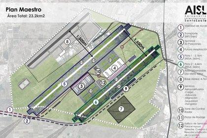 Según la Consulta Ciudadana, realizada el pasado octubre, el 69.5 por ciento de la población votó a favor de la Base aérea de Santa Lucía; el 29.1 por ciento apoyó la continuación del proyecto de Texcoco (Foto: aeropuertosantalucía.com)