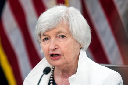 Former US Federal Reserve Chairman Janet Yellen (EFE / Jim Lo Scalzo / File)