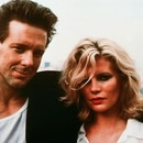 Editorial use only. No book cover usage. Mandatory Credit: Photo by Mgm/Ua/Kobal/Shutterstock (5884527n) Mickey Rourke, Kim Basinger Nine and A Half Weeks - 1986 Director: Adrian Lyne MGM/UA USA Film Portrait 9 1 / 2 Weeks Neuf semaines et 1/2