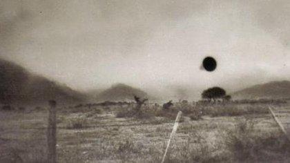 El primer registro fotográfico de un OVNI en Argentina (Luis Netti)