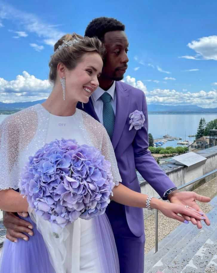 Casamiento Svitolina y Monfils