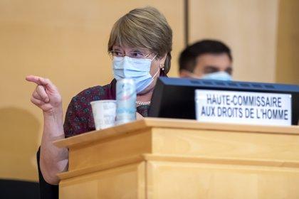 La alta comisionada de la ONU para los derechos humanos, Michelle Bachelet (EFE)