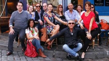 Por las calles parisinas entre colegas, disfrutando de jornadas de shootings y presentaciones de colecciones de la moda argentina